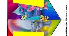 Trolls Banner2.pdf Troll Party, Birthday Ideas, Party Ideas, Pdf, Chicken, Cards, Ideas Party, Maps, Playing Cards