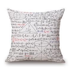 Amazon.com: Science Vector Set Decorative Throw Pillow Cover, HomeTaste®Thick Cotton Linen Pillowcase Square Cushion Case for Sofa Couch Car: Home & Kitchen