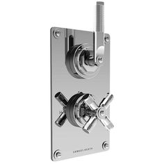 LANDMARK INDUSTRIAL THERMOSTATIC SHOWER MIXER 1 OUTLET LEVER/CROSS HANDLE CHROME