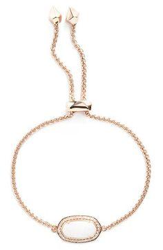Kendra Scott 'Eve' Bracelet in rose gold! Trendy Jewelry, Cute Jewelry, Jewelry Trends, Jewelry Gifts, Jewelery, Jewelry Accessories, Kendra Scott Bracelet, Kendra Scott Jewelry, Silver Bracelets