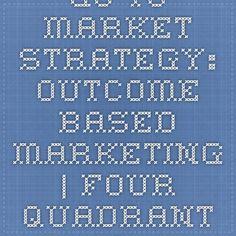 Go-to-Market Strategy: Outcome-Based Marketing | Four Quadrant Blog