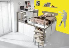 Studentské loftové postele