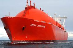 Arctic Princess   Natural Gas Tanker