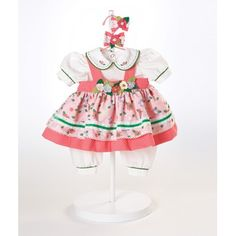 "Adora Dolls 20"" Baby Doll Flower Power Costume"