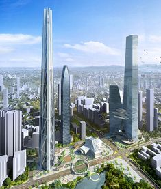 china's tallest skyscraper: plans submitted for H700 shenzhen tower