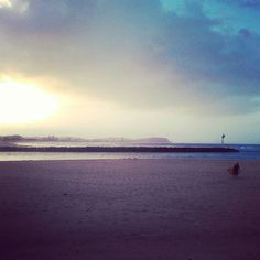 After working in the rain today doing QRL this is a nice scene Shame I gotta work so early tomorrow #sunset #currumbinbeach #gladworkisdone by quiggvia http://ift.tt/1X9mXhV
