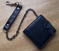 BSA Bikers Wallet with Chain