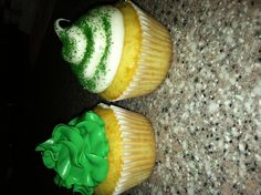 Saint Patrick's day themed cupcakes