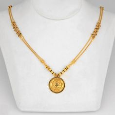 How To Clean Gold Jewelry With Baking Soda Gold Mangalsutra Designs, Gold Earrings Designs, Gold Jewellery Design, Gold Designs, Necklace Designs, Quartz Jewelry, Pendant Jewelry, Bead Necklaces, Jewelry Sets