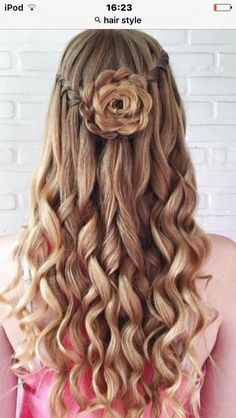 wedding hairstyles easy hairstyles hairstyles for school hairstyles diy hairstyles for round faces p Dance Hairstyles, Homecoming Hairstyles, Hairstyles For School, Pretty Hairstyles, Cute Hairstyles, Braided Hairstyles, Wedding Hairstyles, Hairstyle Ideas, Hair Ideas