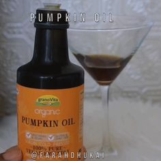 http://www.vivala.com/hair/hair-growth-hack/6079/So how did she do it? With a cocktail of pumpkin oil and a few dashes of peppermint oil./3