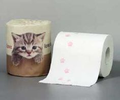 Japan's Cutest Bathroom Tissue For Those Who Just Love Cats...see more at PetsLady.com -The FUN site for Animal Lovers