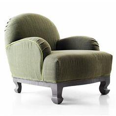 Contemporary Chair & Ottoman from Lando, Model: Gingerbread Collection