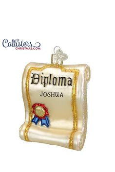 Getting that graduation cap and gown ready for the big day? Our personalized graduation ornaments and a wonderful keepsake to mark a college or high school graduation. Great add on item for a monetary graduation gift. Old World Christmas Ornaments, Christmas Gift Box, Christmas Decorations, Graduation Cap And Gown, College Graduation Gifts, Graduation Ornament, Ornament Hooks, Personalized Ornaments, How To Make Ornaments