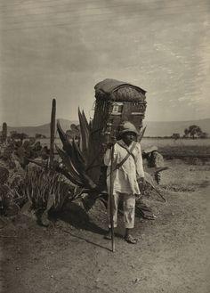 Hugo Brehme. Santiago, Mexico. 1916.