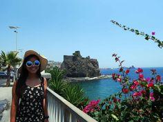 Aci-Castello-from-afar,-Catania,-Sicily,-Italy