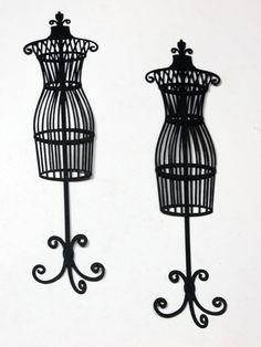 dressform+silhouette | Want2Scrap Dress Form Silhouette - Card Sized (2 Pack)