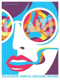 Alt-J concert poster