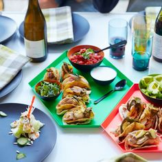 Double-Decker Dr Pepper Chicken Tacos Recipe - Courtney McBroom | Food & Wine
