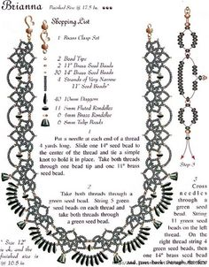Brian a Necklace Tutorial - 2
