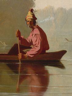 George Caleb Bingham: Fur Traders Descending the Missouri (33.61) | Heilbrunn Timeline of Art History | The Metropolitan Museum of Art