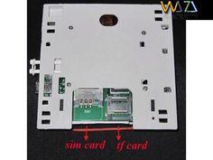 Intrerupator video spion GSM