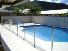 Invisible pool fence