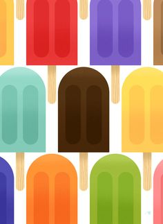 Popsicles by Bob Staake