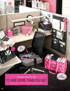 Thirty-One Gifts - The Thirty-One AHHH-fice! Neat, organized but more importantly...CUTE!