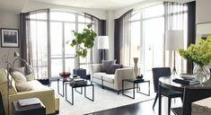 Hilary Swank's Manhattan Retreat  Elle Decor