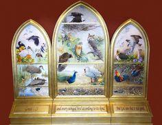 "~ 2014 ArtPrize, Grand Rapids, Michigan ~ ""Birds of the Bible""  Catherine McClung"