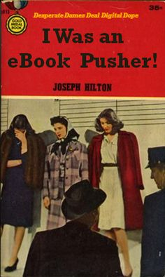 I Was an eBook Pusher! Oh, the shame! Professional Library Literature : simplebooklet.com