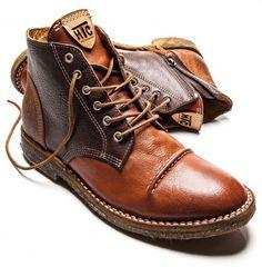 Afbeeldingsresultaat voor leather boots men