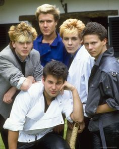 Duran Duran Duran Duran is n English New Wave band that formed in Birmingham, England in They first became noticed when they were th. 80s Nostalgia, 80s Music, Duran, My Music, Pop Culture, 1980s Music, Music, My Favorite Music, Singer