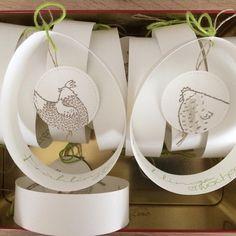 Ich komm grad von meinem ersten Teamtreffen @dhanjaberth Es war ein schöner Nachmittag/ Abend mit netten Mädels, tollen Anregungen und leckerem Essen. Geswapt wurde auch! Ich hab Papiereier zum Aufhängen mit dem Sale-a-bration Set 'Das gelbe vom Ei' gebastelt. #stampinup #stampinupdemonstrator Chickens And Roosters, Stamping Up, Happy Easter, Place Card Holders, Paper, Spring, Instagram Posts, Cards, House