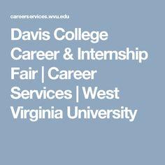 Davis College Career & Internship Fair | Career Services | West Virginia University