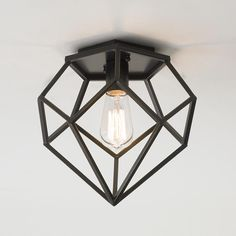 Young House Love Geometric Diamond Ceiling Light - Shades of Light