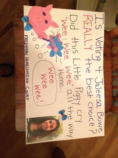 Homecoming Campaign Poster Ideas | Campaign poster ideas ...