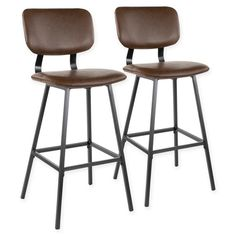 Zarah Wingback Upholstered Counter Stool Gray By World