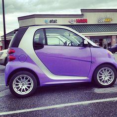Purple Smart Car For Two By Turdubin86