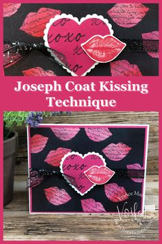 Kissing Technique, Happy Galentines Day, Joseph Coat, My Stamp, Project Yourself, Valentines, Valentine Cards, Stampin Up, Card Stock