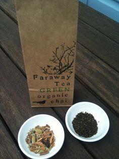 Fair Trade Green Chai Tea from Faraway Tea 100 by farawaytea