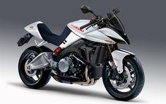 Download wallpapers Suzuki GSX1300 Katana, 2018, 4k, spotbike, new motorcycles, Japanese motorcycles, Suzuki