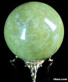 Lemon Stone Crystal Ball