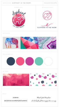 Elephant in the Room Logo Design and Branding by Amanda Fuller Designs Blog Website Design, Blog Design, Portfolio Design, Logo Branding, Branding Design, Branding Ideas, Elefante Tattoo, Elephant Logo, Bussiness Card