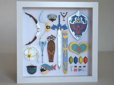 Legend of Zelda paper cuts project