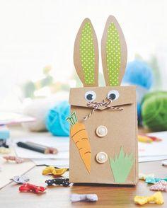 Emballages cadeaux lapins - Loisirs créatifs à petits prix VBS Hobby Service