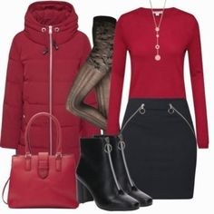 Esprit mantel - outfit- business-outfits bei Komplette Outfits, Fashion Outfits, Fashion Sets, Business Outfits, Business Casual, Pullover, Sweatshirt, Mantel Outfit, Modern