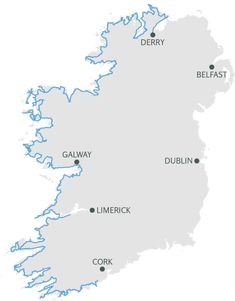 Planning a road trip through Ireland? Get your frequently asked questions answered with this Wild Atlantic Way Map and Route Guide based on my road trip. Ireland Vacation, Ireland Travel, Ireland In Spring, Planning Maps, Travel 2017, Travel Europe, West Coast Of Ireland, Visit Edinburgh, My Road Trip