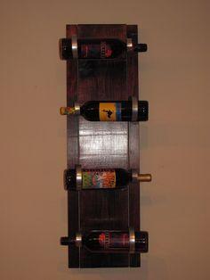 homemade wine racks